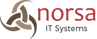 Norsa IT Systems Retina Logo